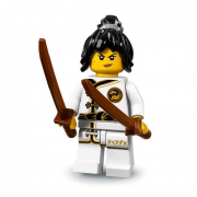 LEGO 71019 Minifigúrky - The LEGO Ninjago Movie - Spinjitzu Training Nya