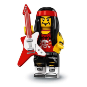 LEGO 71019 Minifigúrky - The LEGO Ninjago Movie - Gong & Guitar Rocker