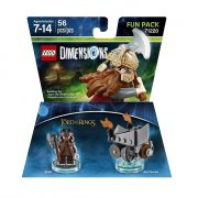 LEGO 71220 Lord of The Rings Gimli and Axe Chariot