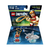 LEGO 71209 DC Comics Wonder Woman and Invisible Jet